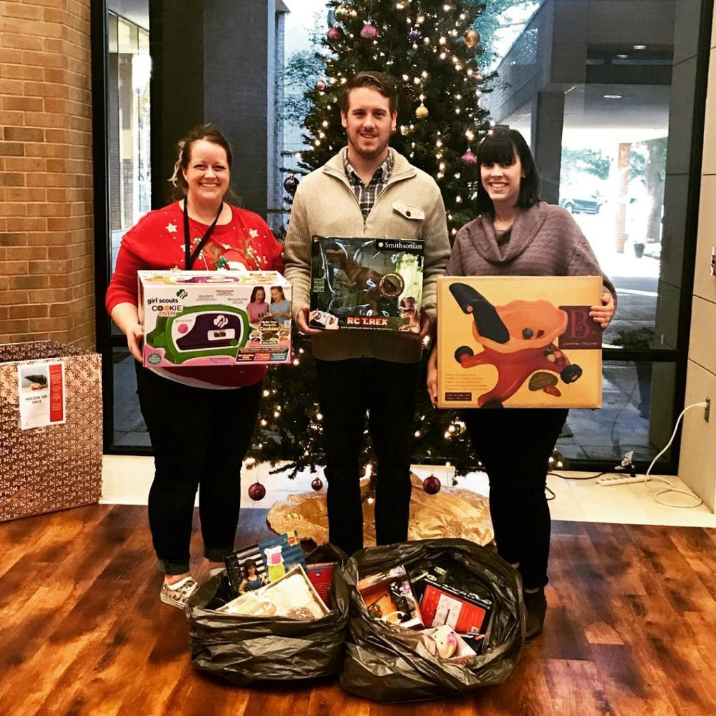 Brandon and Christa dropped off the toys donated from Festivushellip