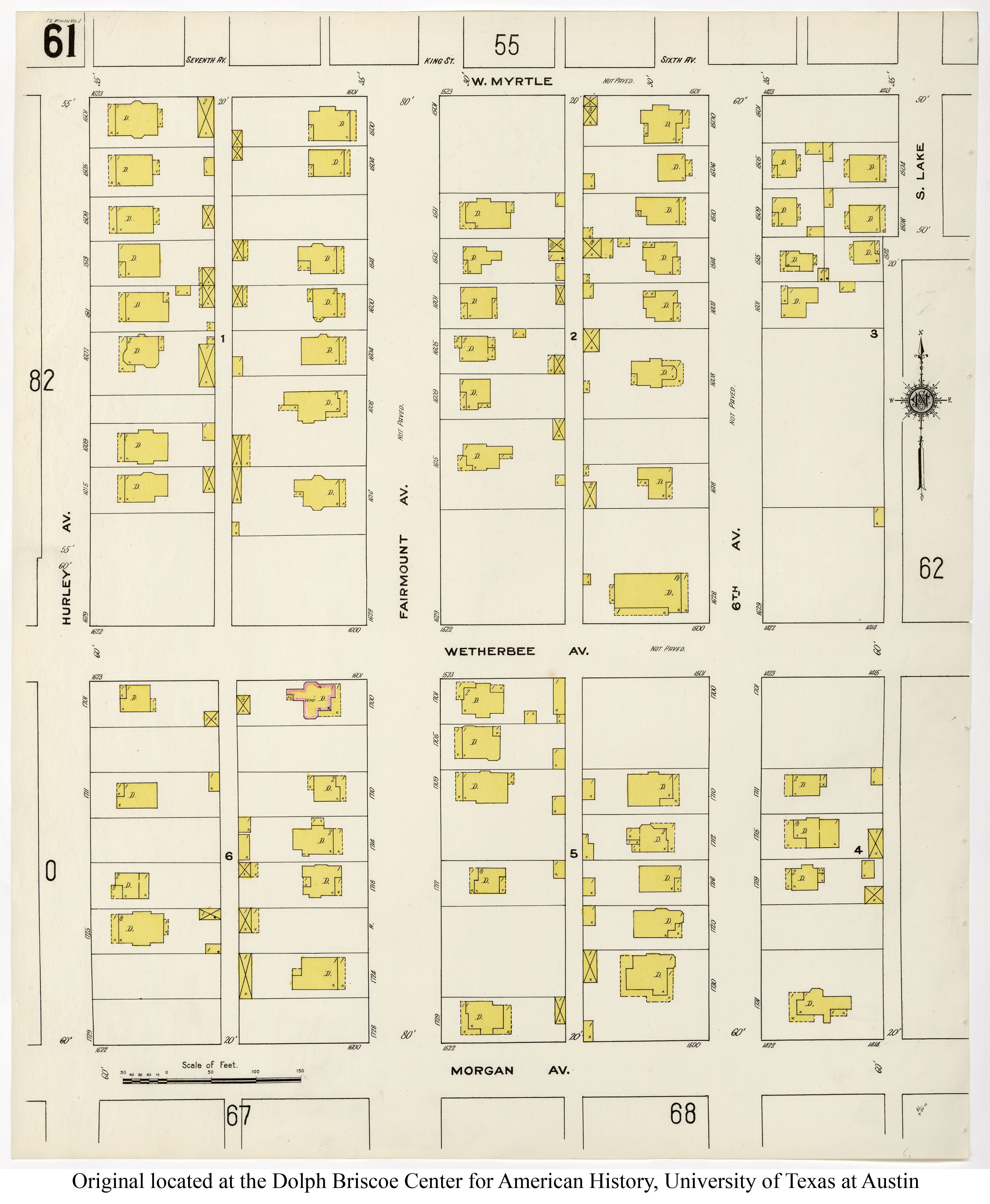 Sanborn Fire Maps For Fairmount Fairmount National Historic District