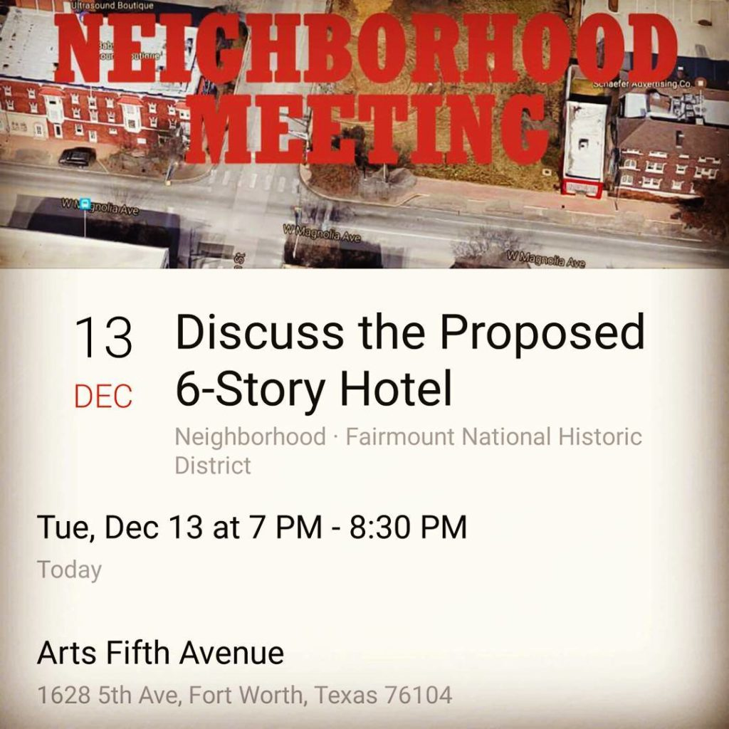 Fairmount Meeting tonight 121316 at A5A at 7 PM arts5thavenuehellip