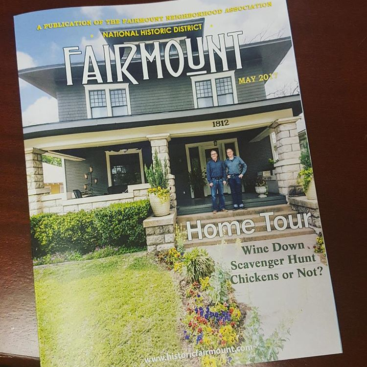 2017FairmountHomeTour newsletters will be delivered this week Buy your homehellip