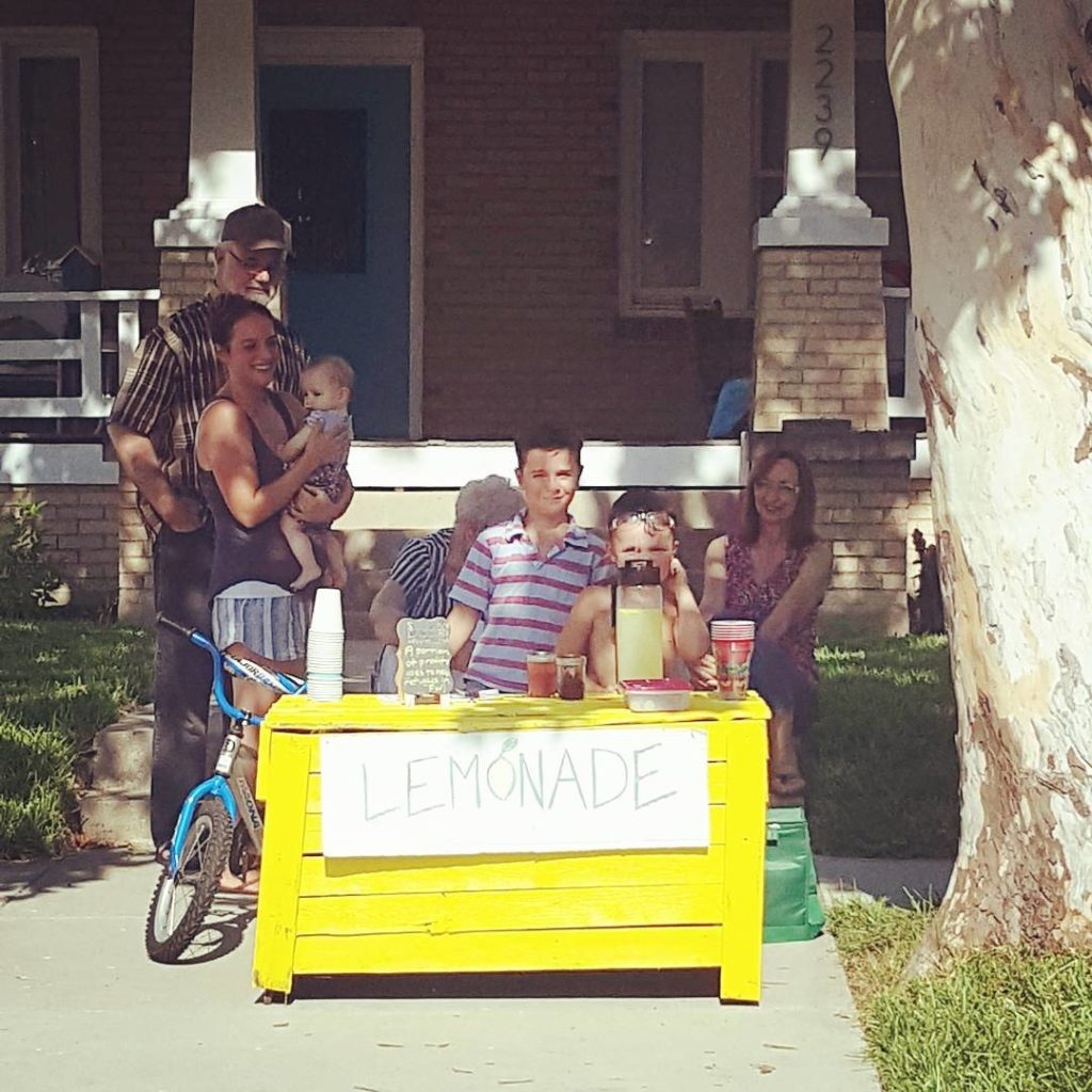 Lemonade for sale up on the 2200 block of 6thhellip