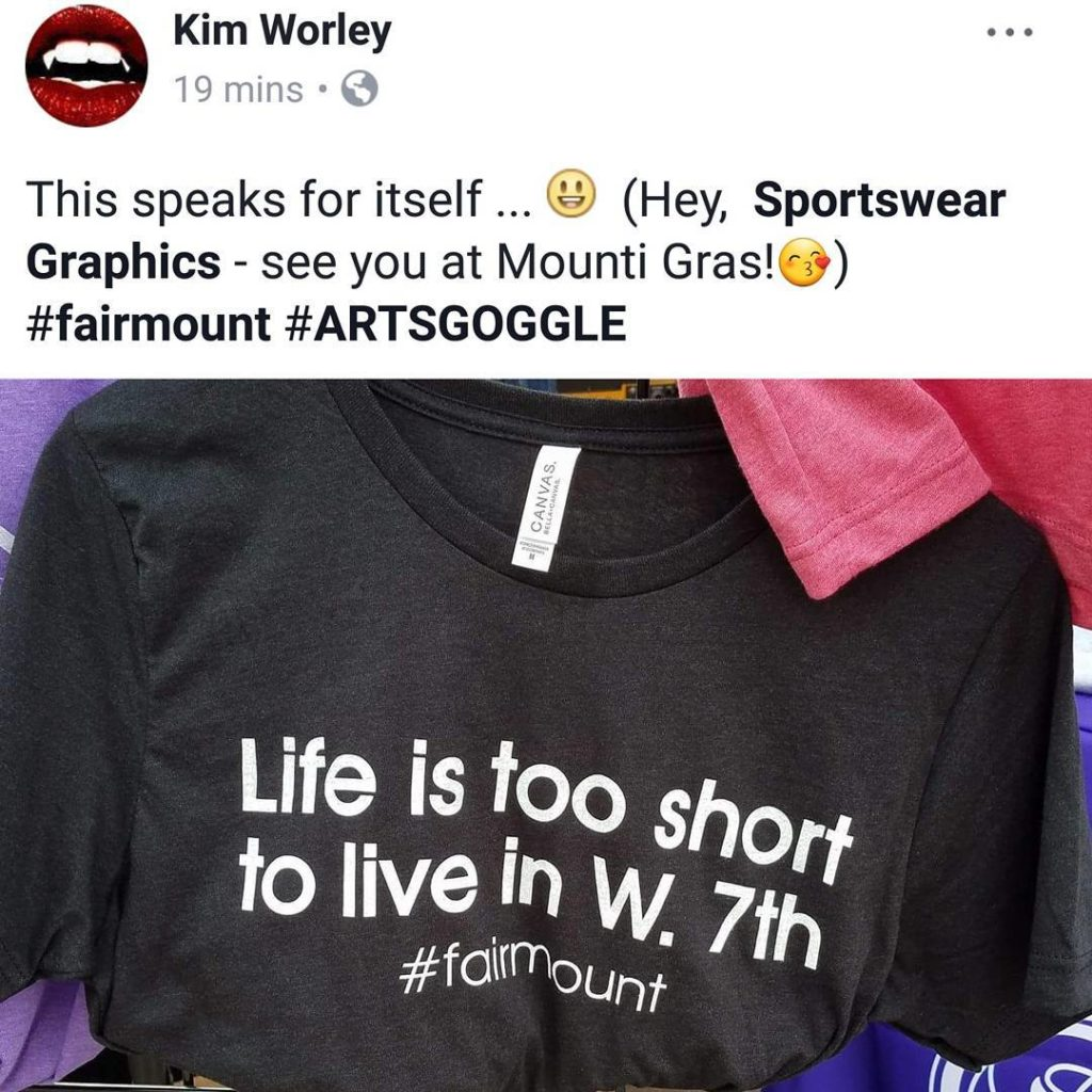 Nice one sportsweargraphics!!! fairmount LifeIsTooShortToLiveInW7th sportsweargraphics