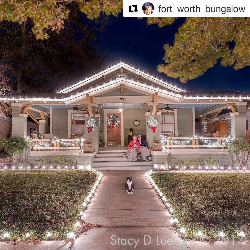 Repost fortworthbungalow  All set for the holidays? This cutehellip