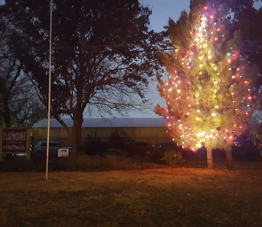 Have you seen the community christmastree at the green spacehellip